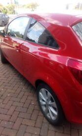 Vauxhall Corsa ecoflex 2014 plate