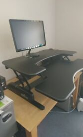Varidesk Pro Plus 36 height adjustable sit stand desk