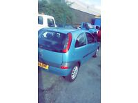 Vauxhall corsa 1.0L 12 months MOT 69,000 miles. Very good condition