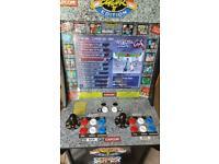 1up Arcade Street Fighter II with Pandora upgrade Kit
