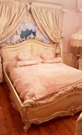 ITALIAN SILIK KING SIZE BED
