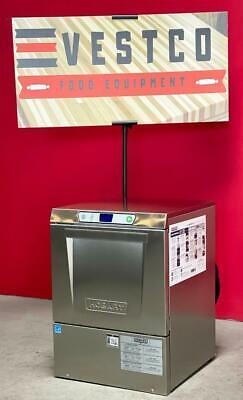 2020 Hobart Lxeh High Temp Undercounter Restaurant Kitchen Commercial Dishwasher