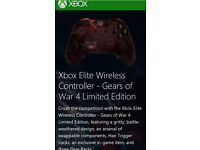 Gears of war 4 limited edition Xbox one elite controller