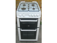 ~~~ZANUSSI DOUBLE OVEN GAS COOKER WITH GLASS LED/TOP~~~