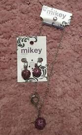 BNWT Mikey Jewellery set
