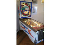 "Original 1966 Williams ""Hot-Line"" Electro-Mechanical Pinball Machine"