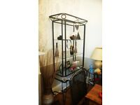 Glass and Metal Lounge/dining furniture set