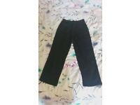 """Ben Sherman Black Trousers 26"""" Waist"""