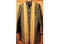 4 piece asian groom mehndi/party outfit for sale