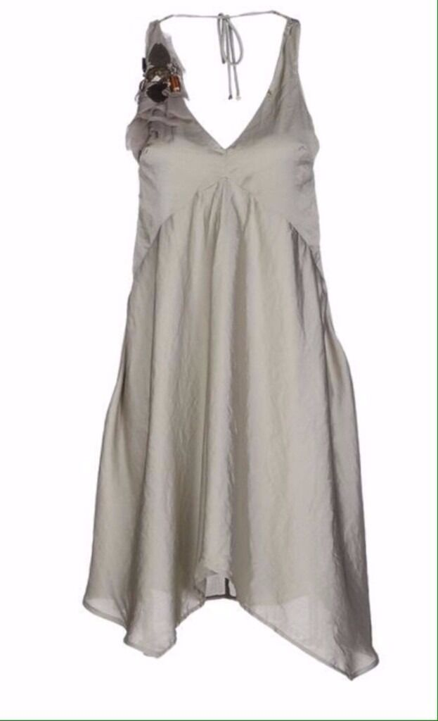 New Annarita N Short dress 10 UK light green