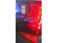 RGB Tempered Glass Desktop Gaming PC
