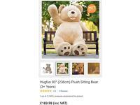 """93"""" giant teddy bear (hugfun)"""