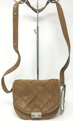 b27721665acb Loeffler Randall Mini Tan Crossbody Snap Tote Satchel Women's Handbag