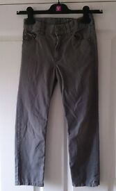 H&M Grey Trousers Age 7 To 8 As New Condition
