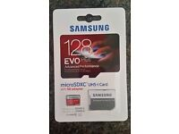 Brand New 128GB Samsung EVO Plus MicroSD Card Class 10 With Adapter 80mb/s