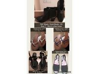 Various Ladies Shoes - Size 6 & 7