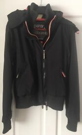 Ladies Superdry - The Windbomber Jacket (professional) - medium (10/12) in black.