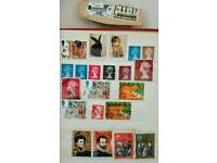 Stamp collection page all original