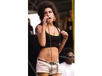 Music company looking for a singer for an Amy Winehouse tribute act.