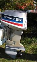 1969 EVINRUDE 85HP OUTBOARD MOTOR
