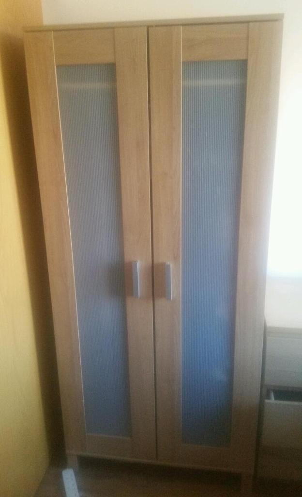 ANEBODA wardrobein Liverpool, MerseysideGumtree - Wardrobe with single hanging rail and shelf. Oak effect. One available. Collection only