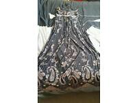 Ladies long maxi dress clothes fashion