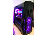 Extremely Powerful Gaming PC i7 Skylake GTX 1080 32GB DDR4 RAM SSD+HDD Win10 Pro LIKE NEW!
