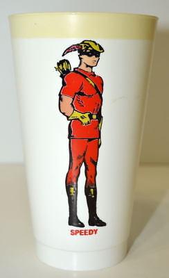 SPEEDY DC COMICS SUPER HEROES 7-11 CUP 1973 Green Arrow Teen Titans ()