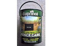 Cuprinol 5 Litre Less Mess Fence Care Rich Oak