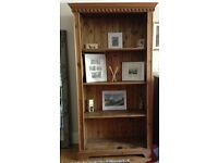 Solid Oak Bookcase - Excellent Condition