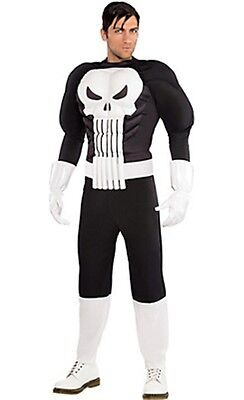 The Punisher War Zone Adult Costume Marvel Comics Brand New PLUS SIZE - Punisher Costume