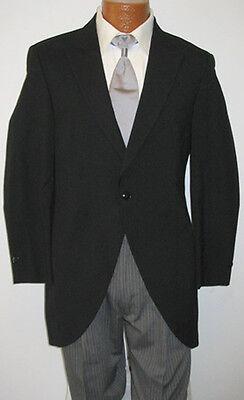 Discount Boys Suits (10B Black Tuxedo Cutaway Morning Coat Caroller Costume Butler Discount)