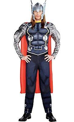 Erwachsene Avengers Kostüm (The Avengers Thor Erwachsene Muskelkostüm Marvel Comics Größe Standard Neu Pc)