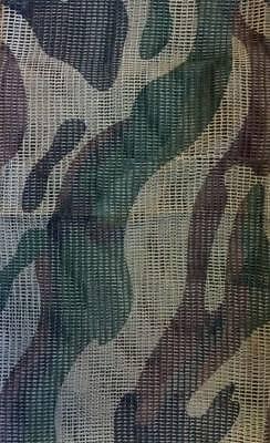 Red de malla camuflaje woodland tipo militar, enmascarar equipo tactico, bufanda