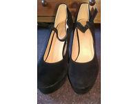 black suede shoes size 6