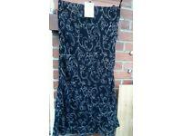 STUNNING new Laura Ashley Black Skirt Size UK 14 -EUR 40 - RRP £ 60.00