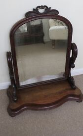 Antique swivel Table Mirror