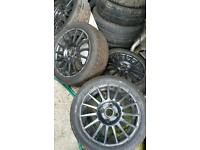 4x108 alloy wheels, Ford fitment. 15 inch