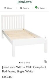 John Lewis Wilton single bed