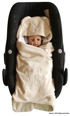 ByBoom® Einschlagdecke Sommer für Babyschale, Maxi Cosi, Römer, Kinderwagen
