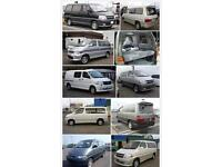 Wanted Mazda bongo ford Frieda Toyota granvia top cash prices paid