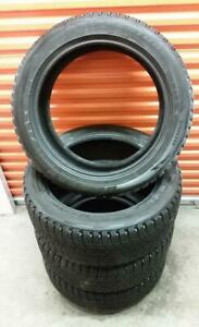 (H282) 4 Pneus Hiver - 4 Winter Tires 245-50-20 Bridgestone