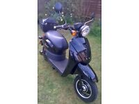 Electric Moped E-Rider Model 30 - 1500 miles - Very Good Condition