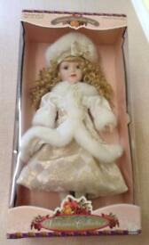 NEW BK Limited Edition, Victorian Porcelain Doll