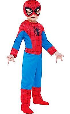 Superheld Truppe Spider-Man Kleinkind Kostüm Marvel Comics Größe 12-24 Monate #
