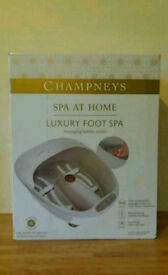 NEW Champneys Luxury Foot Spa - Messaging Bubble Action