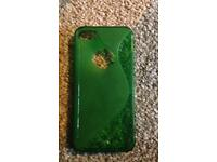 iPhone se green case