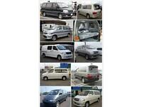 Wanted Toyota granvia Mazda bongo ford Frieda top cash prices paid