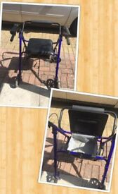 Disability Walker with Seat