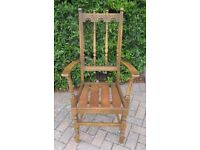 Superb Mint Condition Solid Wood: Ercol Carver Chairs & 4 Matching Dinning Chairs - Make Us An Offer